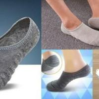kaos kaki serat bambu / bamboo arang telapak hidden socks dewasa