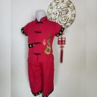Baju Setelan Cheongsam Imlek Anak Laki Laki (Naga)