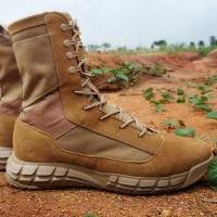 Parabellum XtracX Tactical Lightweight Boots - Coyote Lace - Cokelat Muda, 40