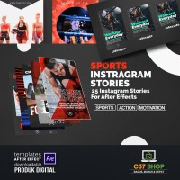 SPORTS Instagram Stories | Videohive After Effect Template