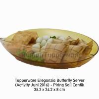 Terlaris Tupperware Eleganzia Butterfly Server (Activity Juni 2016)