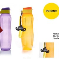 Termurahhh S New Eco Bottle 1L 1 L (1) Pcs Ungu Botol Minum Tupperware