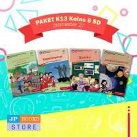 Paket Buku Tematik SD/MI K13 Kelas 6 Semester 2
