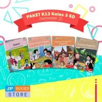 Paket Buku Tematik SD/MI K13 Kelas 3 Semester 2