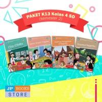 Paket Buku Tematik SD/MI K13 Kelas 4 Semester 2