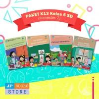 Paket Buku Tematik SD/MI K13 Kelas 5 Semester 2