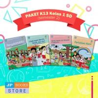 Paket Buku Tematik SD/MI K13 Kelas 1 Semester 2