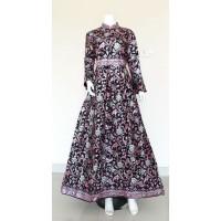 Baju Batik Wanita Gamis Wanita Gamis Batik, seragam keluarga GM - 117