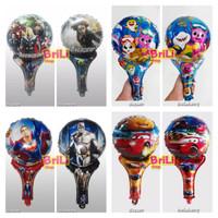 Balon Tongkat Karakter | Balon Pentung | Souvenir Ultah