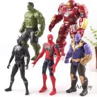 Action Figure Pajangan Marvel Infinity War Thanos Black Panther Hulk