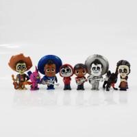 Mainan Action Figure Figur Pajangan Disney Coco Topper Hiasan Kue Tart