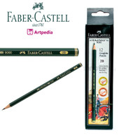 Pensil Kayu Faber Castell 2B / Pensil 2B - Pensil Kayu 2B (Original)
