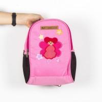 Backpack Kanvas Kids Dancer Tas Anak Selempang 2 in 1 Erfa Handmade