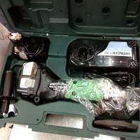 Gerinda Baterai Hitachi G 18 DL Cordless Angle Grinder G18DL Original