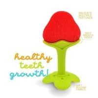 Teether Bayi Silicon Gigitan Bayi Mainan Gigi Bayi IQ Baby Fruit