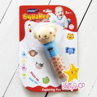 Boneka Rattle Rattle Stick Animal Rattle Toet 5 Karakter
