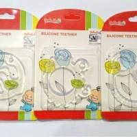 Teether Bayi Silicone Mainan Gigitan Bayi Reliable