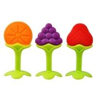 Teether Bayi Silicon Gigitan Bayi Mainan Gigi Bayi IQ Baby Fruit.2