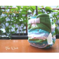Enfiesta Pocket Diaper Set - The Wave