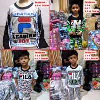 Piyama Anak / Baju Tidur Anak / Setelan Pajamas Lucu MARUNO