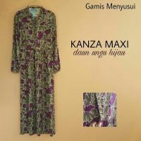Baju Muslim Gamis Long Dress Hamil Dan Menyusui kanza Maxi
