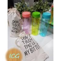 my bottle/infused water / botol minum balan plastik (ada tas!!!)