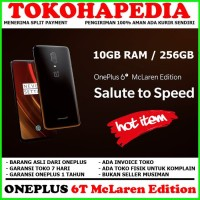 ONEPLUS 6T 10GB RAM / 256GB McLaren Edition - ONE PLUS 6 T SPEED