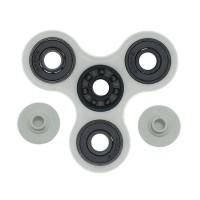 Fidget Spinner Hybrid Black Ceramic / Keramik Hitam - Glow In The Dark