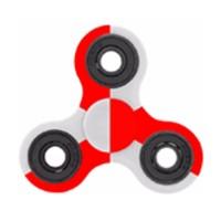 Fidget Spinner Hybrid Black Ceramic Limited - Merah Putih (Indonesia)