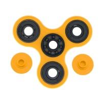 Fidget Spinner Keramik / Ceramic Ball Bearing Tri-Spinner Toy - Kuning