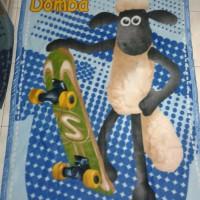 Selimut Blanket anak kartun karakter hadiah
