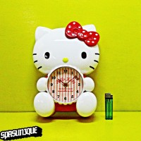Jam Dinding Body HELLO KITTY SWING CLOCK 631-2