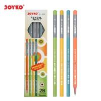 Pencil / Pensil Joyko P-117 / 2B / 1 BOX 12 PCS