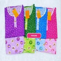 BESTSELLER GROSIR 4 Baju Tidur Wanita Katun Celana Pendek Hoki Sheila