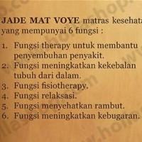 Harga garansi matras jade mat voye terapi kesehatan free kalung | Pembandingharga.com