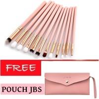 JBS New York makeup brush Set 12 kuas makeup jbs K025+Dompet Kuas