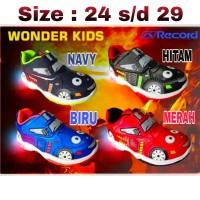 Sepatu anak laki-laki LED (lampu) karakter mobil, Record
