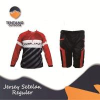 Jersey Sepeda Gowes NALINI Roadbike XC Panjang Setelan Celana I033