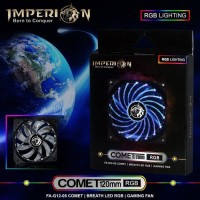 Fan / Kipas Gaming Imperion FA-G12-05 Comet 120mm, RGB