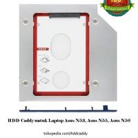 HDD Caddy untuk Laptop Asus N53, Asus N55, Asus N56