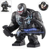 Brick lego Venom Villain Spiderman Minifigure Big Figure Avengers