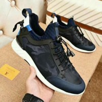 c3743d91c1 SEPATU SNEAKER LV MEN SHOES BLUE CAMO