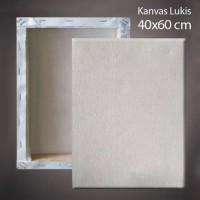Kanvas Lukis + Spanram 40x60 cm