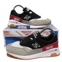 Sepatu New Balance 1500 Sole Box Black Red Grey Suede Ua Original BNIB a67d88874b