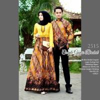 Batik Couple Gamis Remaja Keluarga Sarimbit Kondangan Kekinian HME21