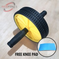 AB Wheel AA |Braked Double Roller | Alat Olahraga Pembentuk Perut