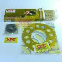 Harga gearset gear set girset gir set sss gold alloy motor honda | Pembandingharga.com
