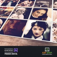 FOLDING PHOTOS Slideshow | Videohive After Effect Template