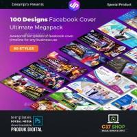 FACEBOOK COVER ULTIMATE MEGAPACK | Social Media Template