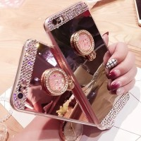 Case Xiaomi Redmi Note 5A Bling Diamond Crystal Soft Mirror Ring